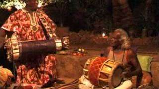 Masterdrummers from nigeria and southindia live in Goa 2001