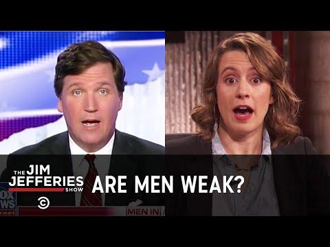 Tucker Carlson Proves Men Are Weak - The Jim Jefferies Show -  Exclusive