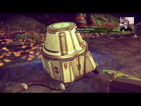 NO MAN'S SKY Walkthrough Gameplay Part 1: Ship Repair & Exoloring First Planet