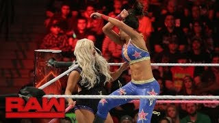 Bayley vs. Dana Brooke: Raw, 17. Oktober 2016