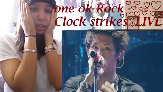 "ONE OK ROCK - Clock Strikes "" Yokohama Stadium"" LIVE _ REACTION"