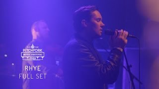 Rhye | Full Set | Pitchfork Music Festival Paris 2015 | PitchforkTV