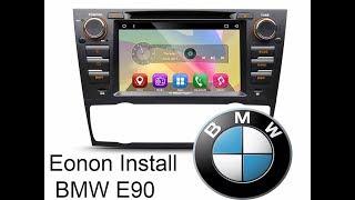 BMW E90 Touchscreen Installation Eonon GA7165