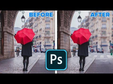 Realistic background blur in Photoshop 2020 New Features:Object Select, Lens Blur thumbnail