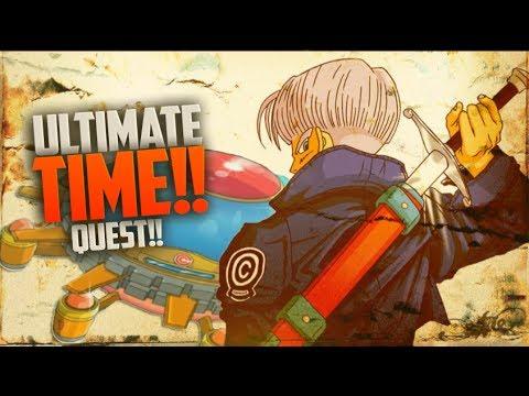 Dragon Ball Online Time Machine Quests(TMQ)1-7 All Cut-Scenes!