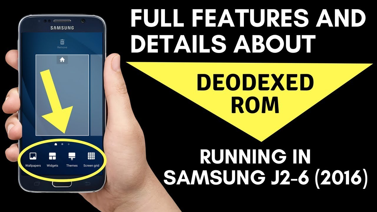 Full Features Of Deodexed Rom Running In Samsung J2-6 2016 (J210F)