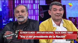 Fuerte cruce entre Olmedo y el dirigente Eduardo Belliboni  del Partido Obrero