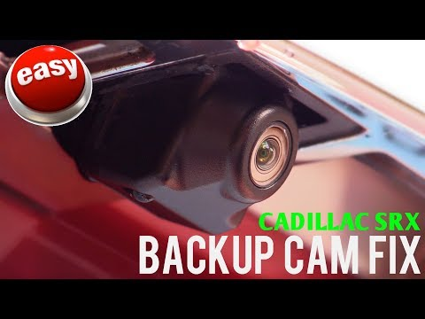 2010-2016 Cadillac SRX Backup Camera Repair & Replacement (23205689)