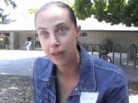 Clotilde Grès, professeur de français au lycée de Mountain View