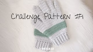 Men's Crochet Gloves | Made With Love | Crochet Challenge for Warm Up America
