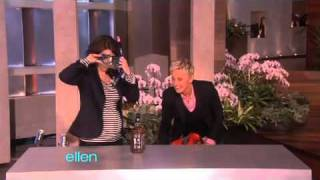 Tina Fey and Ellen