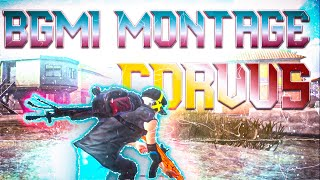 BGMI Montage ⚡Corvus Rom Poco F1   battleground mobile India @BATTLEGROUNDS MOBILE INDIA