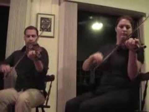 Nova Scotia Fiddlers Troy MacGillivray and Andrea Beaton #1