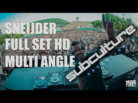 Sneijder Closing Set - Subculture, Argentina. Multi Cam HD