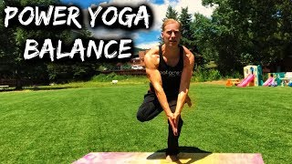 Power Yoga Conditioning - Balance Strength Workout