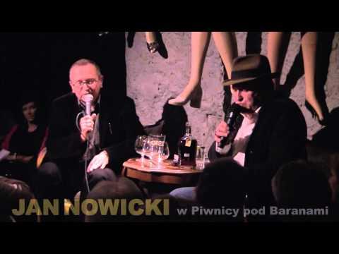 Jan Nowicki w Piwnicy pod Baranami