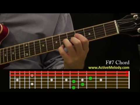 How To Play an F#7 (Sharp) Chord On The Guitar - YouTube