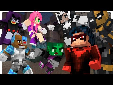 Minecraft Teen Titans vs Evil Nightwing! Slade Returns [Ep. 7 Minecraft Roleplay] Nightwing Plays