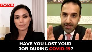 Lost your job during COVID-19?