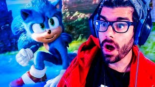 NEW SONIC THE MOVIE REACTION