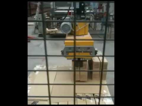 Robot Paletizador - Palletizing Machine - MAX PORTIC - ERRECE