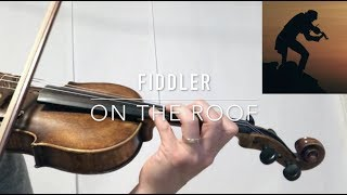 Fiddler on The Roof Theme Violin Tutorial w. Sheet Music and Tab