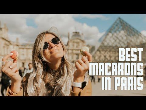 BEST MACARONS IN PARIS | ARC DE TRIOMPHE | PARIS DAY 1