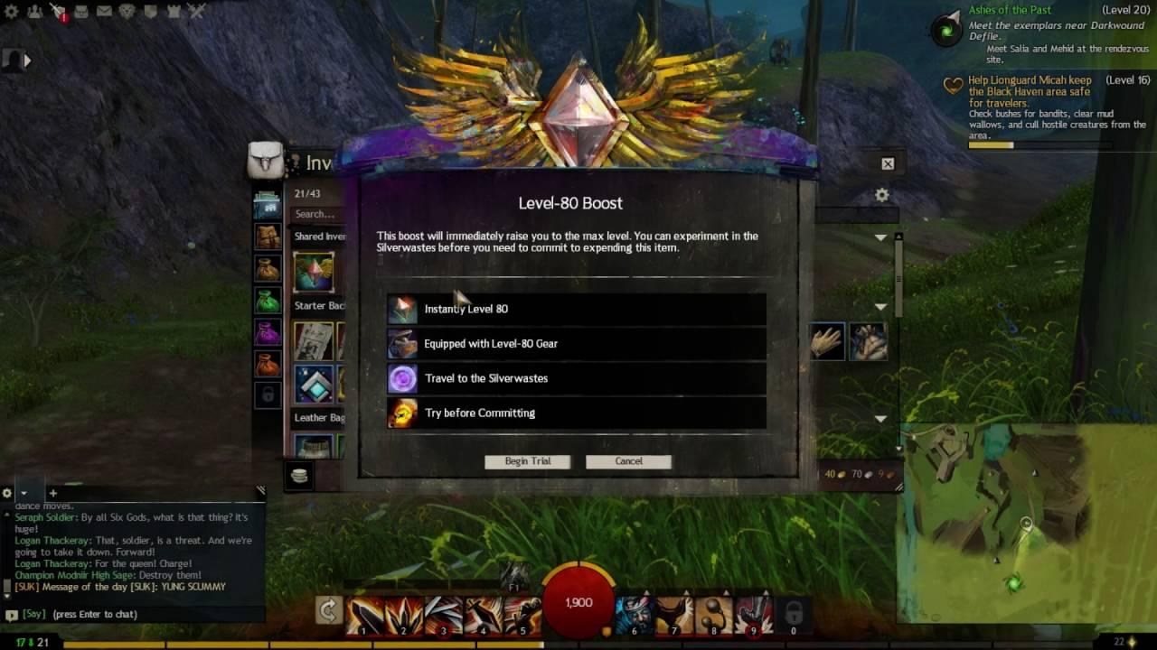 Guild Wars 2 HOW TO GET LVL 80 FAST BEST METHOD EXP GRIND
