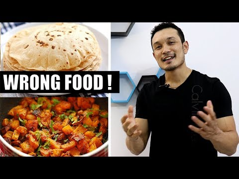 ROTI - SABZI (रोटी सब्ज़ी)- How healthy is your home made Food?