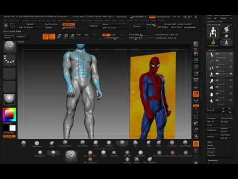 SCULPTING JOE JUSKO'S SPIDERMAN  PART 9