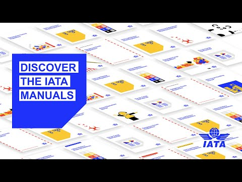 Discover the IATA Manuals