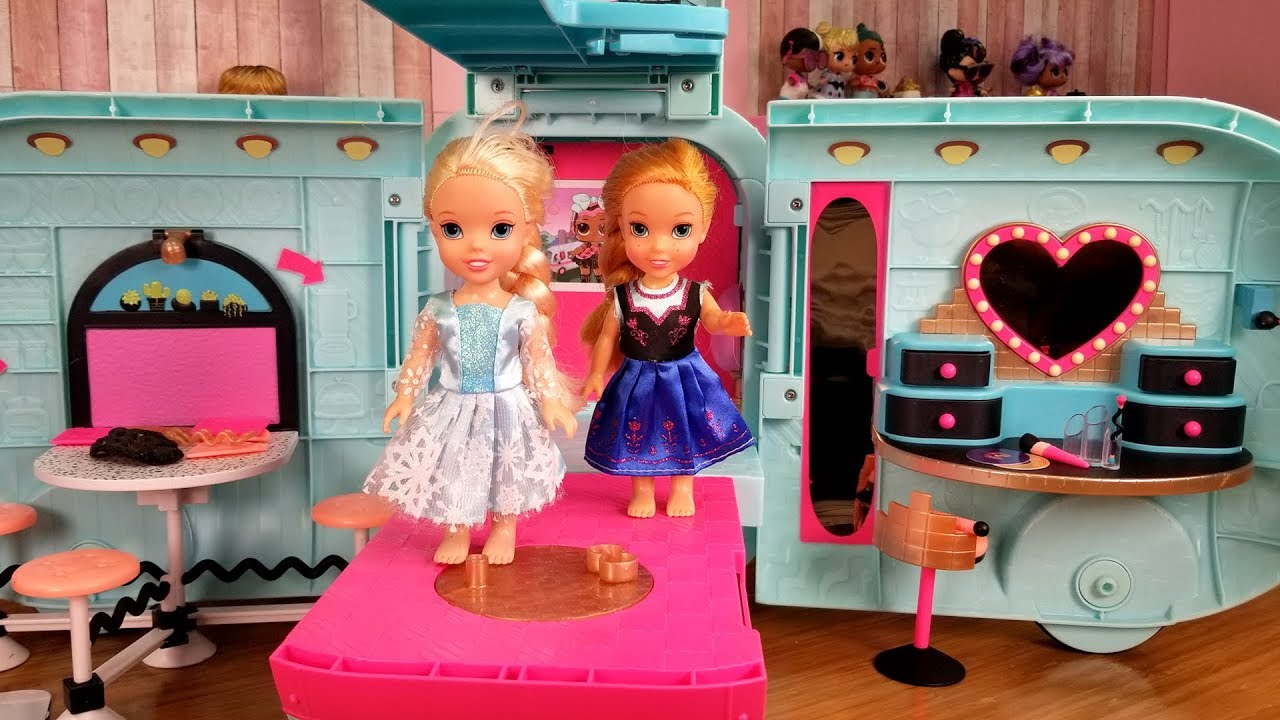 Download Surprise toy ! Elsa and Anna toddlers - lol