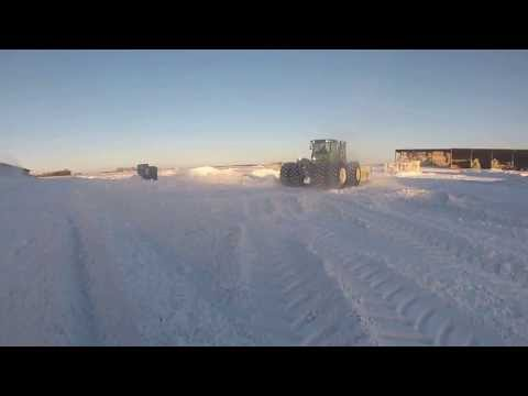 Pushing Snow At East Dublin Dairy