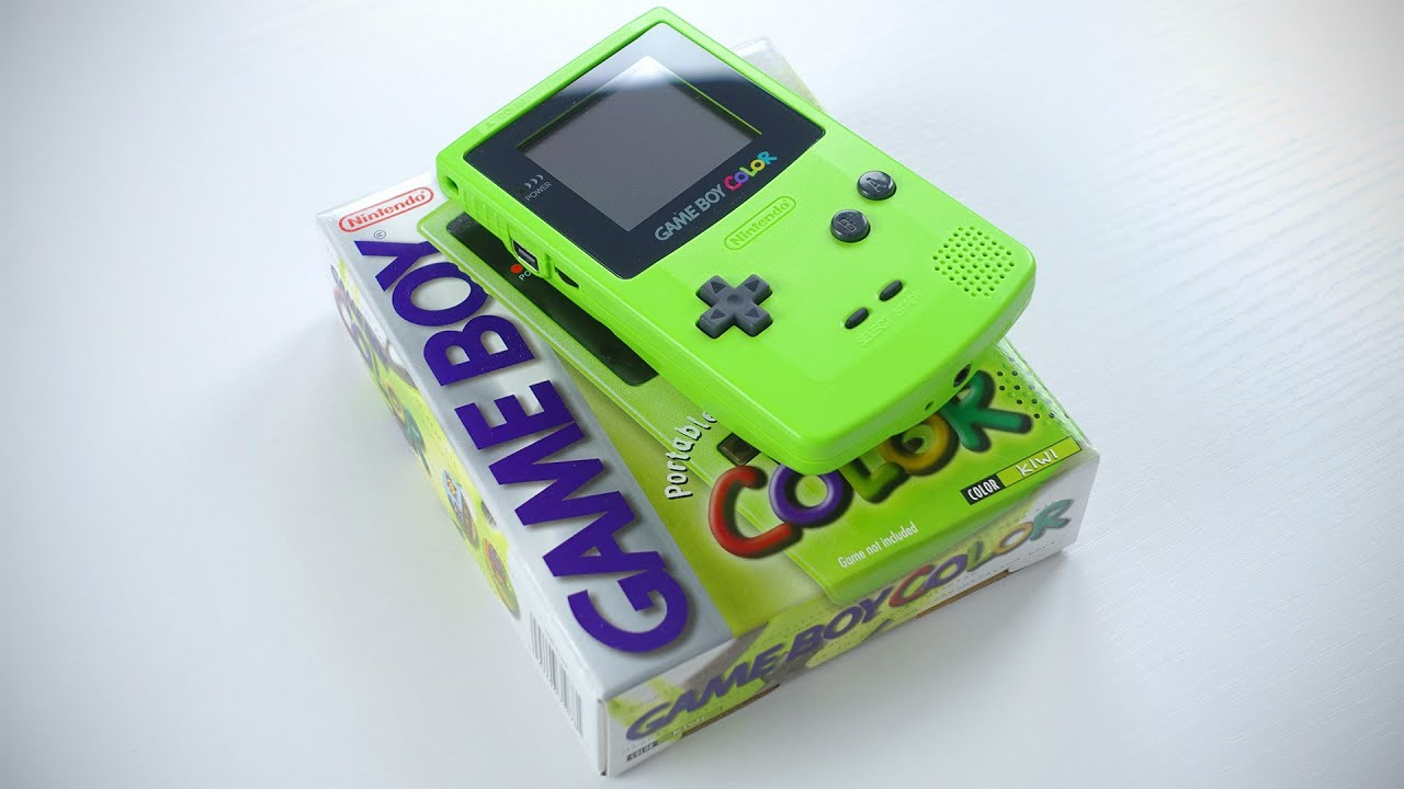 Nintendo game boy color youtube - Nintendo Game Boy Color Unboxing