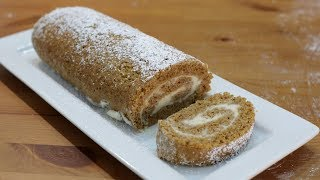 How to Make a Pumpkin Roll | Easy Pumpkin Roll Cake Recipe