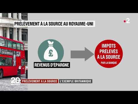 Shabir - Euro Accounting - Journal de 20h France 2  Prélevement a la source