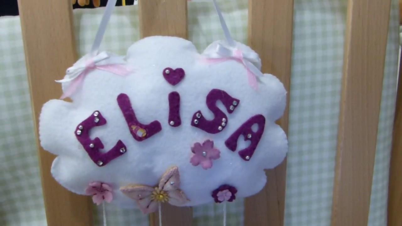 Diy tutorial baby banner nuvola feltro fai da te regalo for Fai da te creazioni