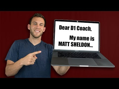 REVEALING the Email that got me RECRUITED to D1 College Soccer