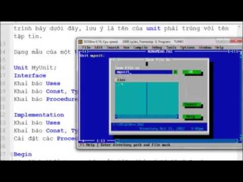 Lập trình Pascal  Bài 8   Unit P2   Vietsource net   YouTube