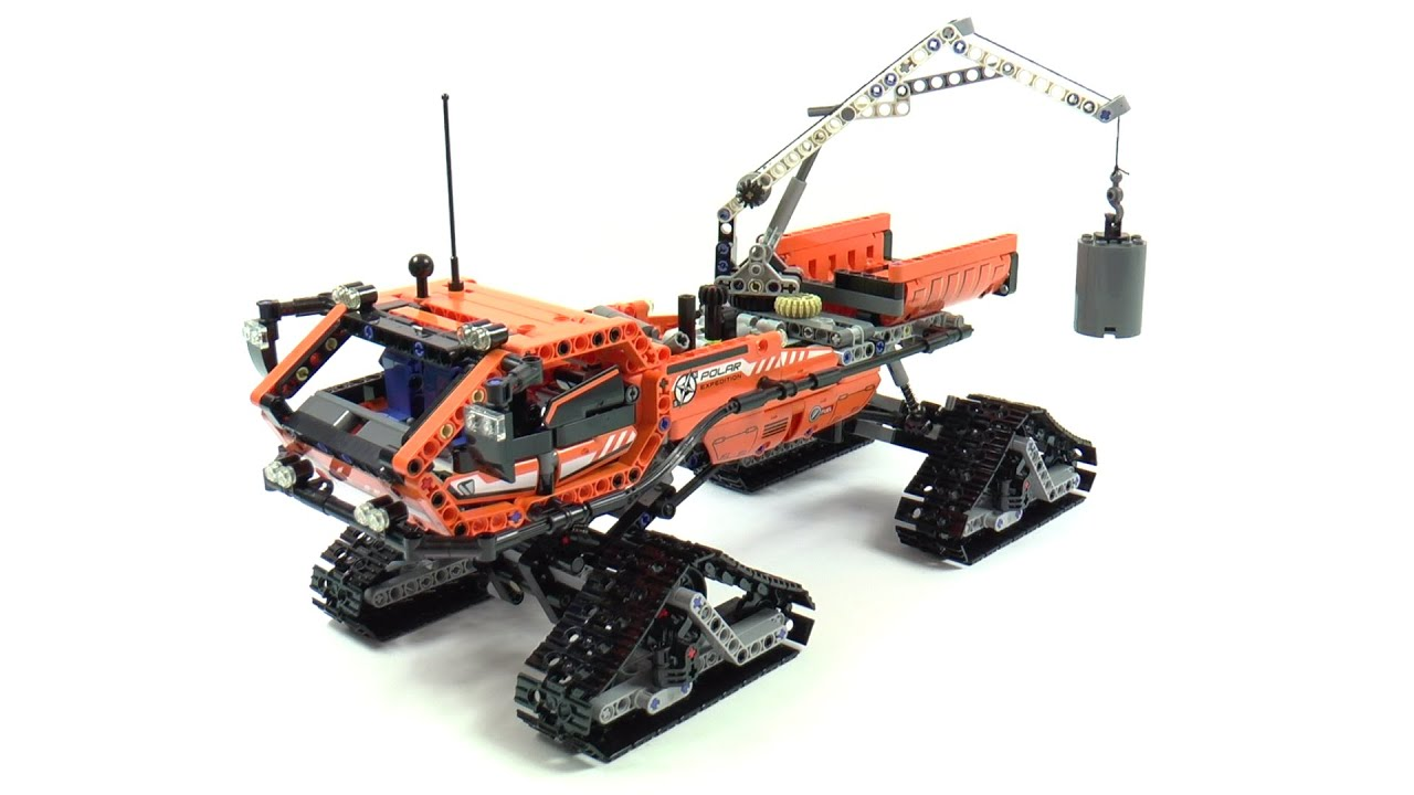 lego technic 42038 arctic truck speed build and review. Black Bedroom Furniture Sets. Home Design Ideas