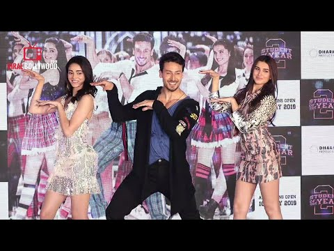 The Jawaani Song Launch Student Of The Year 2   Tiger Shroff, Tara & Ananya   RD Burman