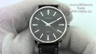 Обзор. Мужские японские наручные часы Casio MTP-1303L-1A(Подробное описание и фото: http://www.alltime.ru/catalog/watch/374/casio/Man/9180/detail.php?ID=106743&back=list., 2014-03-06T11:41:08.000Z)