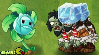 Plants vs Zombies 2 - Sneak Peek New Zombies In Frostbite Caves Pinata Party