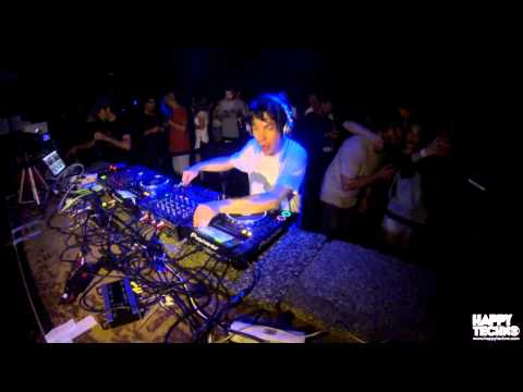 Alex Kenji @ Happy Techno - City Hall (Barcelona / Spain) - 06.06.2015