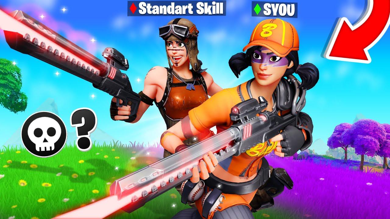 WER IST BESSER? SYou gegen Standart Skill! Gewinner bekommt NEUEN TITEL in Fortnite!