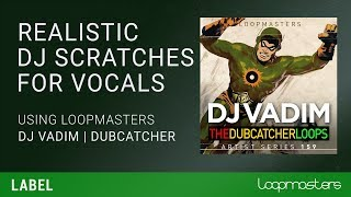 Hip Hop & Reggae DJ Scratching Plugin VST for Vocals Samples Loops Tutorial