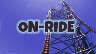 Mr Freeze Reverse Blast On-ride Front Seat (HD POV) Six Flags Over Texas