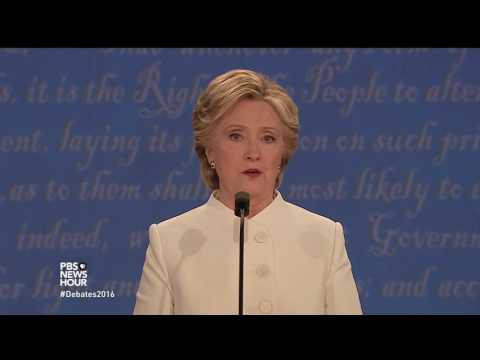 Clinton on middle class opportunity, minimum wage hike and equal pay for women