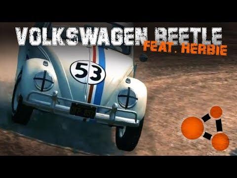 1963 VOLKSWAGEN BUG Mod [BIG UPDATE] | BeamNG.drive | feat. Herbie The Love Bug