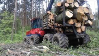 VALMET 840s2  zrywka buka/praca w lesie